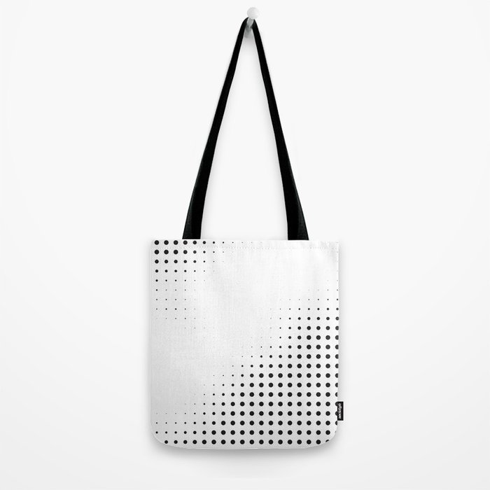 Black raster - Optical game12 Tote Bag