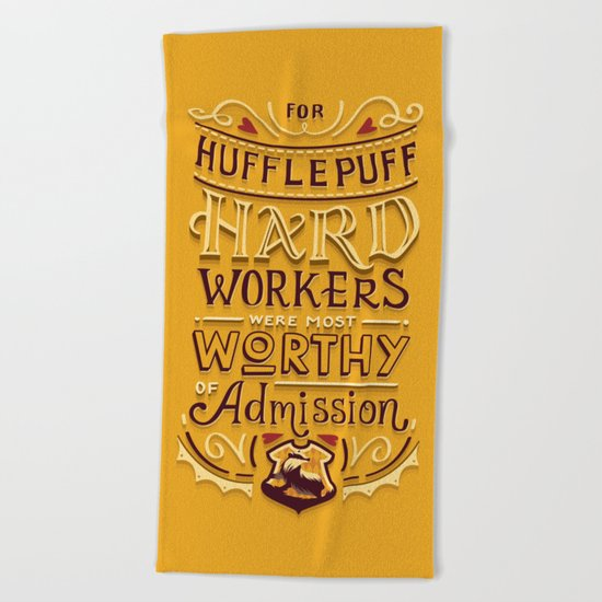 Hard Workers Beach Towel