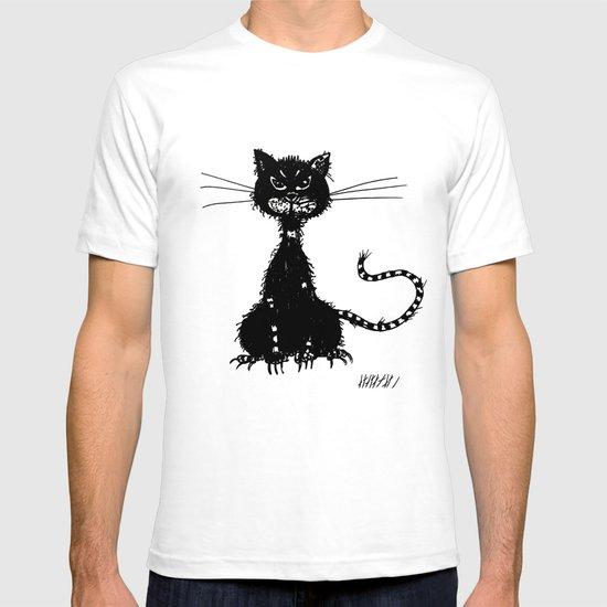 Ragged Evil Black Cat T-shirt