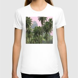 Pink Sunrise in The Marquesas Islands, French Polynesia T-shirt