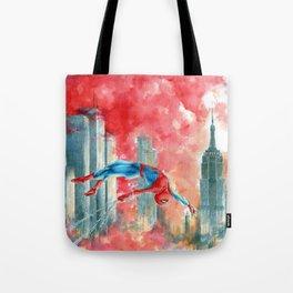 Dawn in NY Tote Bag
