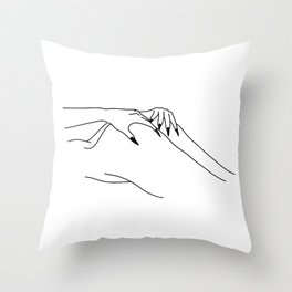 bury your face here Throw Pillow