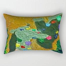 minimal giraffe Rectangular Pillow