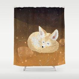 Fennek Shower Curtain