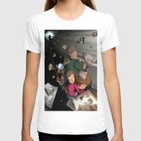 returns T-shirts featuring Gravity Falls Returns by Auraya Frost