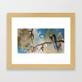 Birds of Paradise, 2008 Framed Art Print