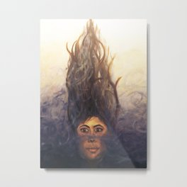 Emergence of Fierce Tranquility Metal Print