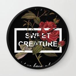 Harry Styles Sweet Creature Artwork Wall Clock