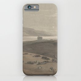Vintage Print - The Holy Land, Vol 2 (1843) - Jericho iPhone Case