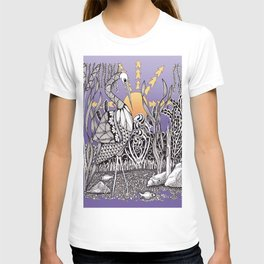 Zentangle Daylight in the Swamp T-shirt