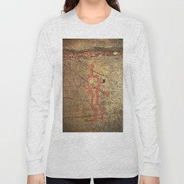 Pictogram at Vitlycke, Sweden 10 Long Sleeve T-shirt