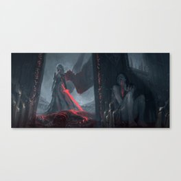 Angel of the Bloodied Dance Canvas Print