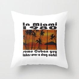 Some Cuban Guy Throw Pillow