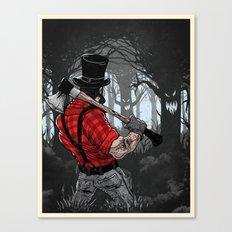 Lumber Abe Canvas Print