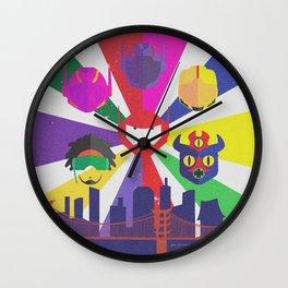 Big Hero 6 - Heroes of San Fransokyo Wall Clock