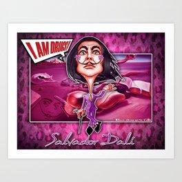 Salvador Dali! Art Print