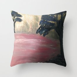 Other Side The River Styx Throw Pillow