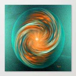 The energy of joy Canvas Print