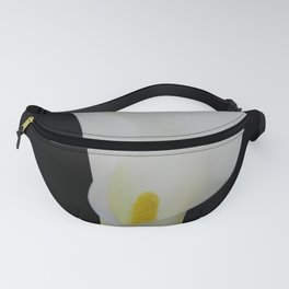 Portrait Of A Calla Lily Fanny Pack