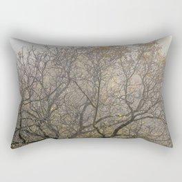 Autumnal tree branches Rectangular Pillow