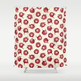 Tumblin' Jennies Shower Curtain