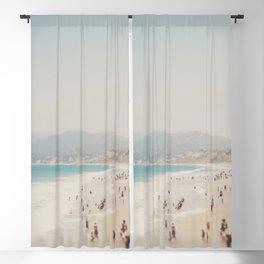 summer time in Santa Monica ... Blackout Curtain