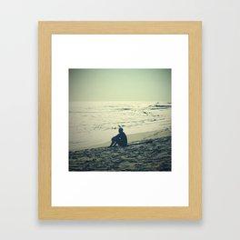 Surf Reflect Framed Art Print