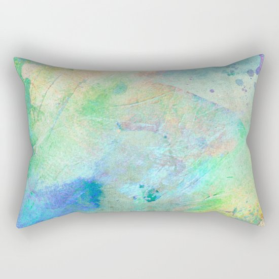 Pastel Color Splash 06 Rectangular Pillow