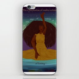 Art & Brown Womyn iPhone Skin