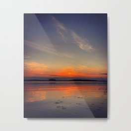 Colorful evening Metal Print