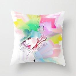 color composition Throw Pillow