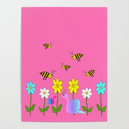 Cute Nature Poster