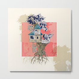 Treehouse colors Metal Print