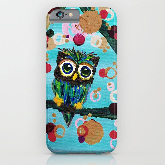 :: Gemmy Owl Loves Jewel Trees :: iPhone & iPod Case