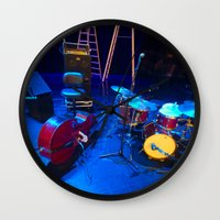 the mortal instruments Wall Clocks featuring Instruments by Mauricio Santana