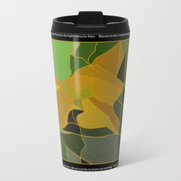 Blessed are the Cracked Travel Mug