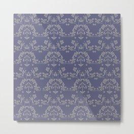 Repeating pattern in muted tones Metal Print