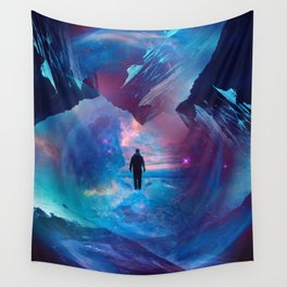 I am tired of earth Dr manhattan Wall Tapestry