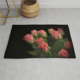 bunch of roses Rug
