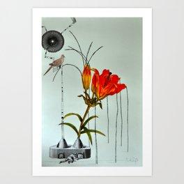Lily and Callum Art Print
