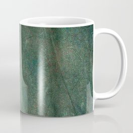 Green fabric Coffee Mug