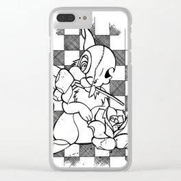 Alternative Thumper Clear iPhone Case