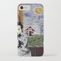 poland iPhone & iPod Cases featuring My summer in Poland by JulieAaland