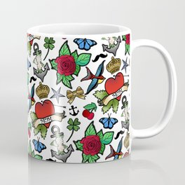 Vintage Tattoos Coffee Mug