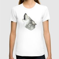 howl T-shirts featuring Howl by Katie Rosealea