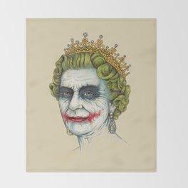 God Save the Villain! Throw Blanket