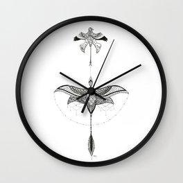MicroraptorS Wall Clock