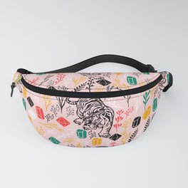 Tigers and Crystal Gems Fanny Pack