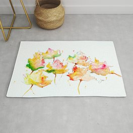 Leaves of Change Rug