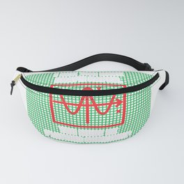 I See You Have Graph Paper Funny Plotting Math Gift design Fanny Pack